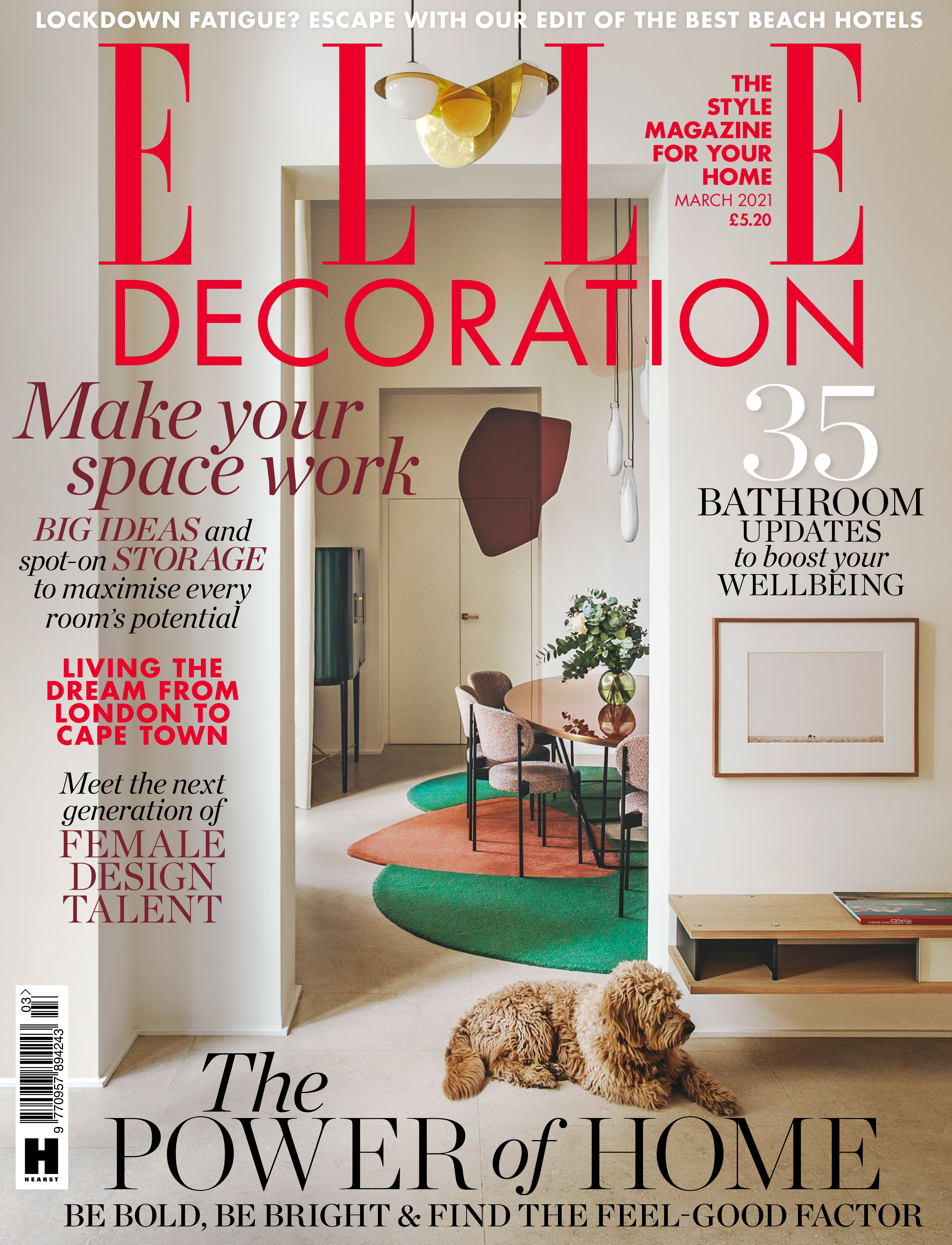 Elle Decoration UK March 2021