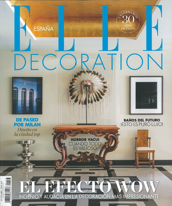 In the press - Elle Decoration Spain April 2019