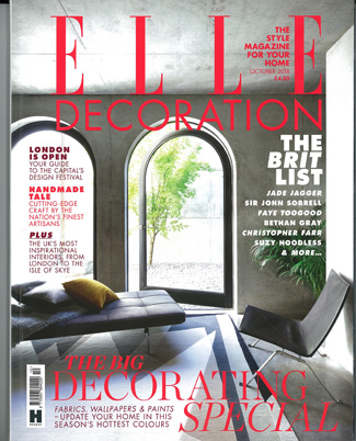 In the press - Elle Decoration October 2018