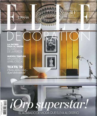 In the press - Elle Decoration Spain March 2019