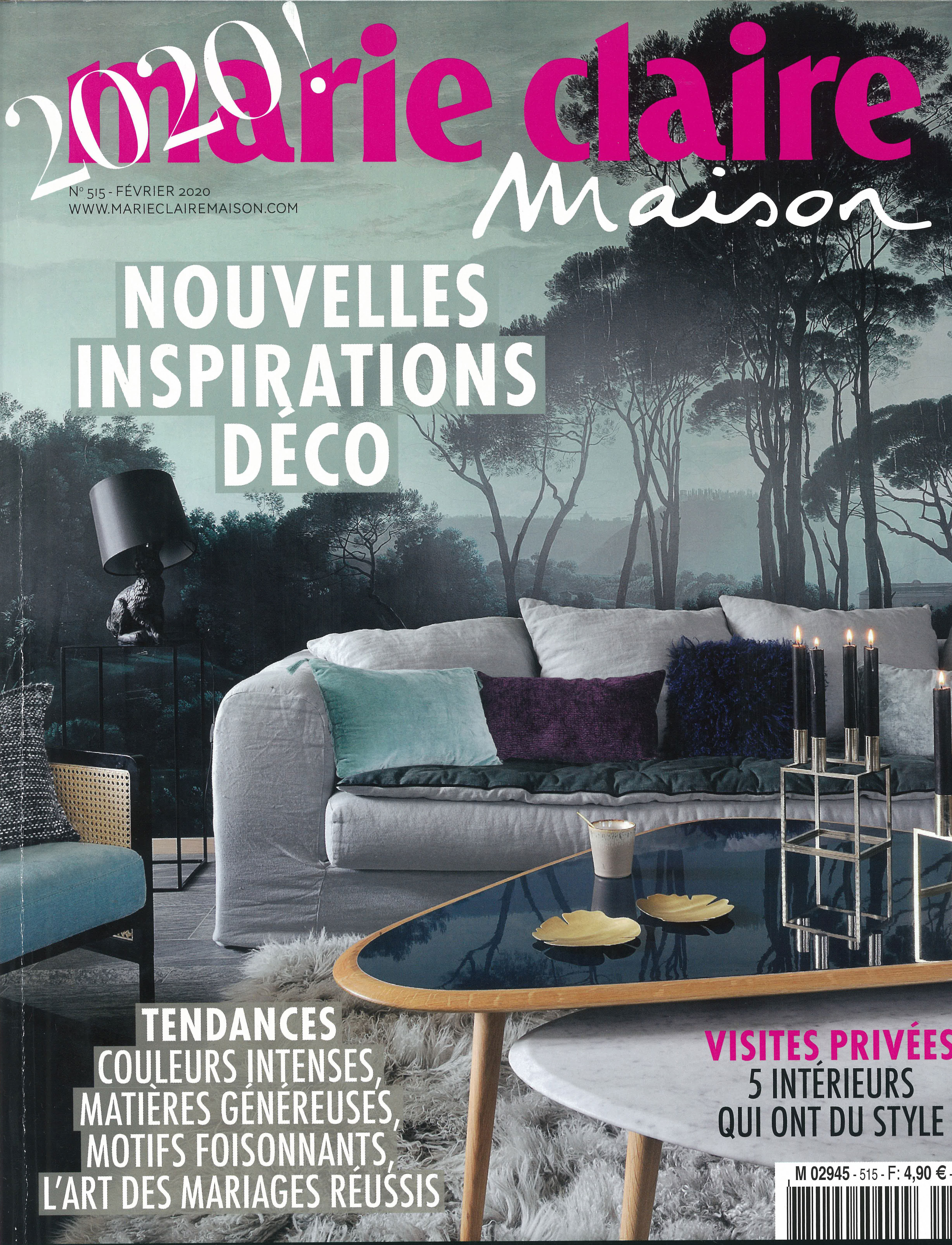 Marie Claire Maison France February 2020