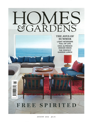 In the Press - Homes & Gardens August 2019