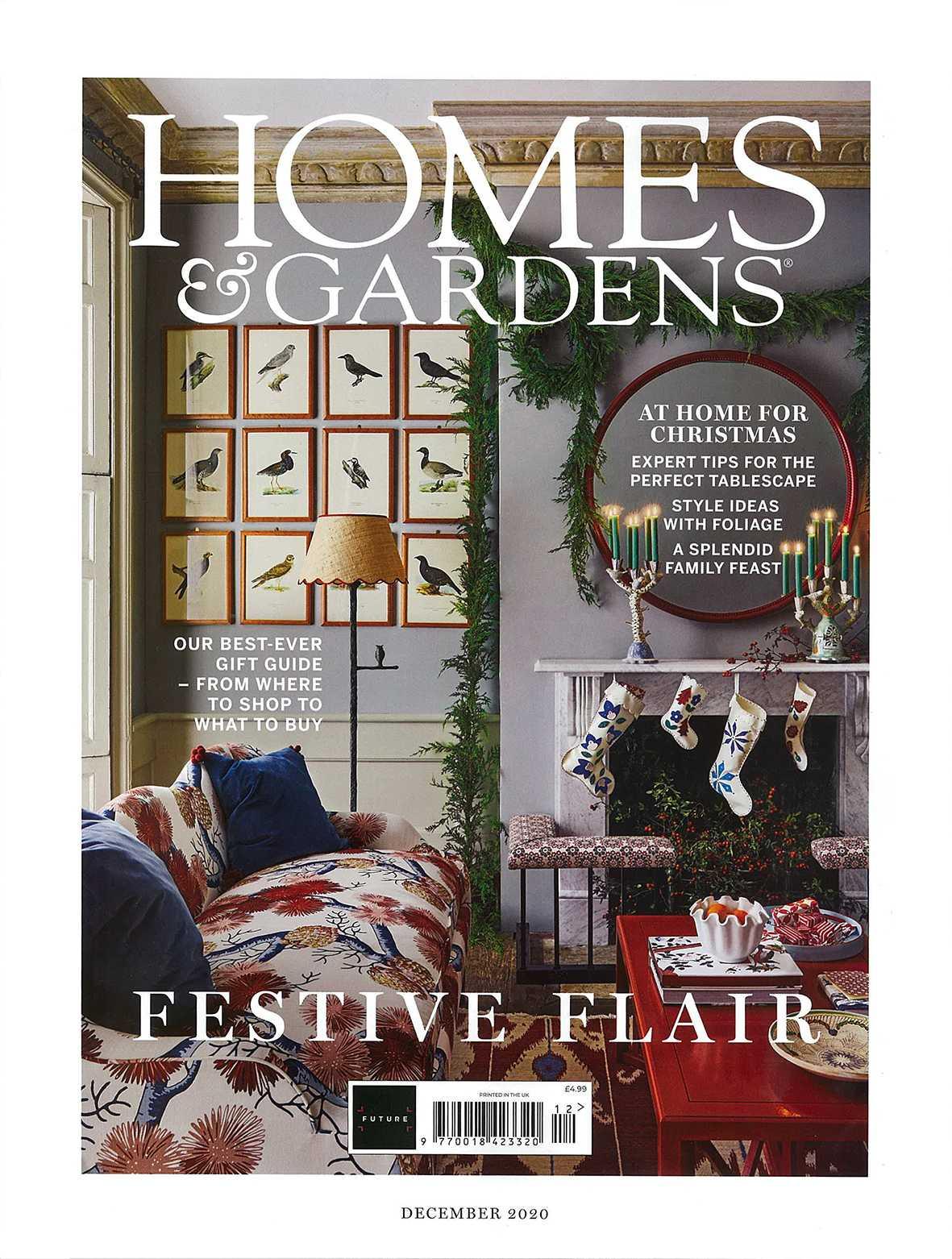 HOMES & GARDENS UK - DECEMBER 2020