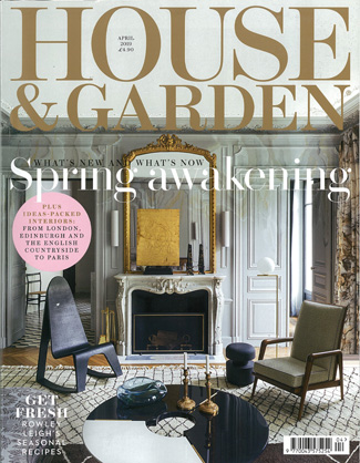 In the press - House & Garden April 2019