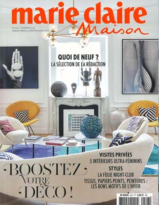 In the Press - Marie Claire Maison France February 2019