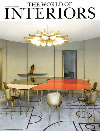 In the press - The World of Interiors October 2018