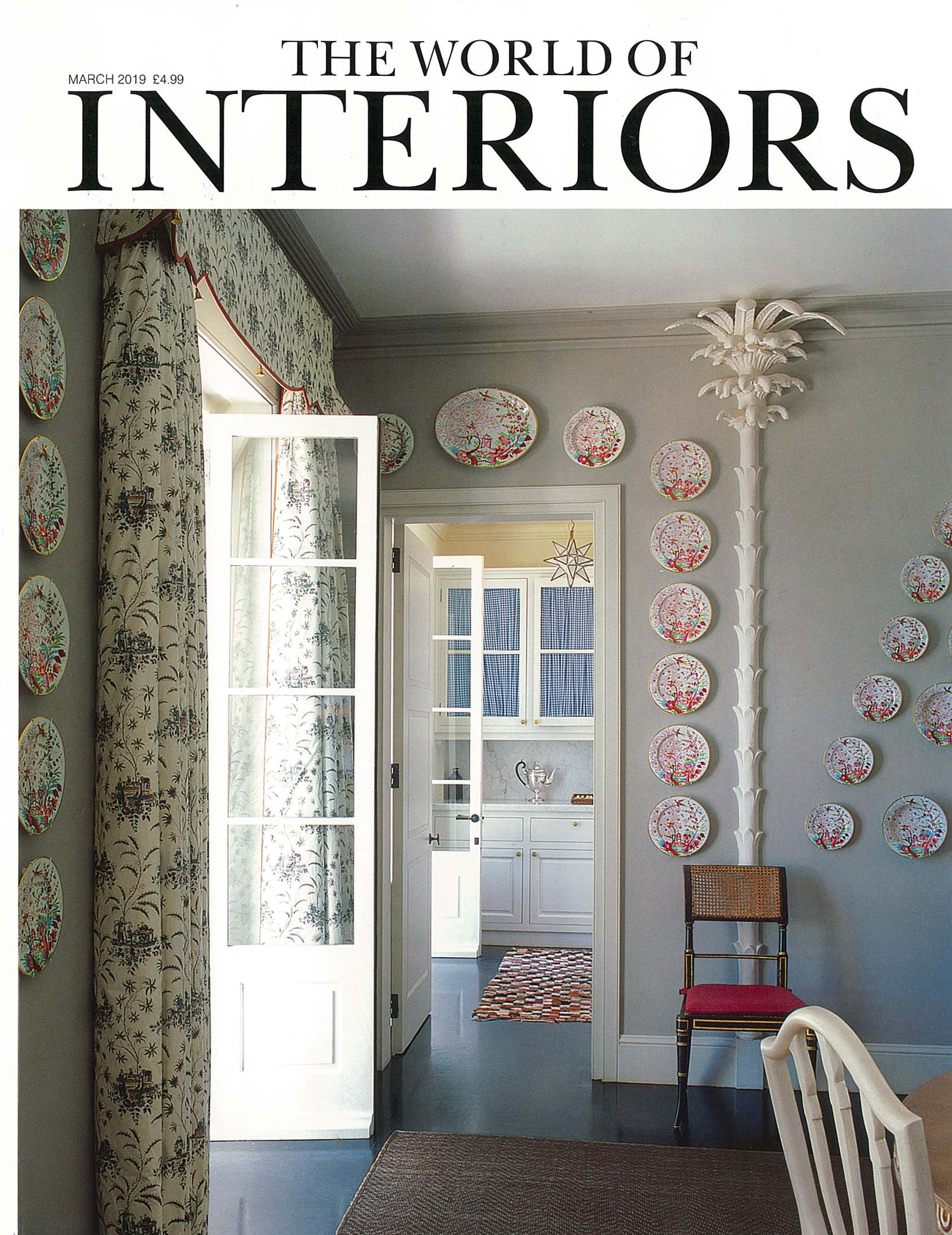 In the press -  The World of Interiors March 2019