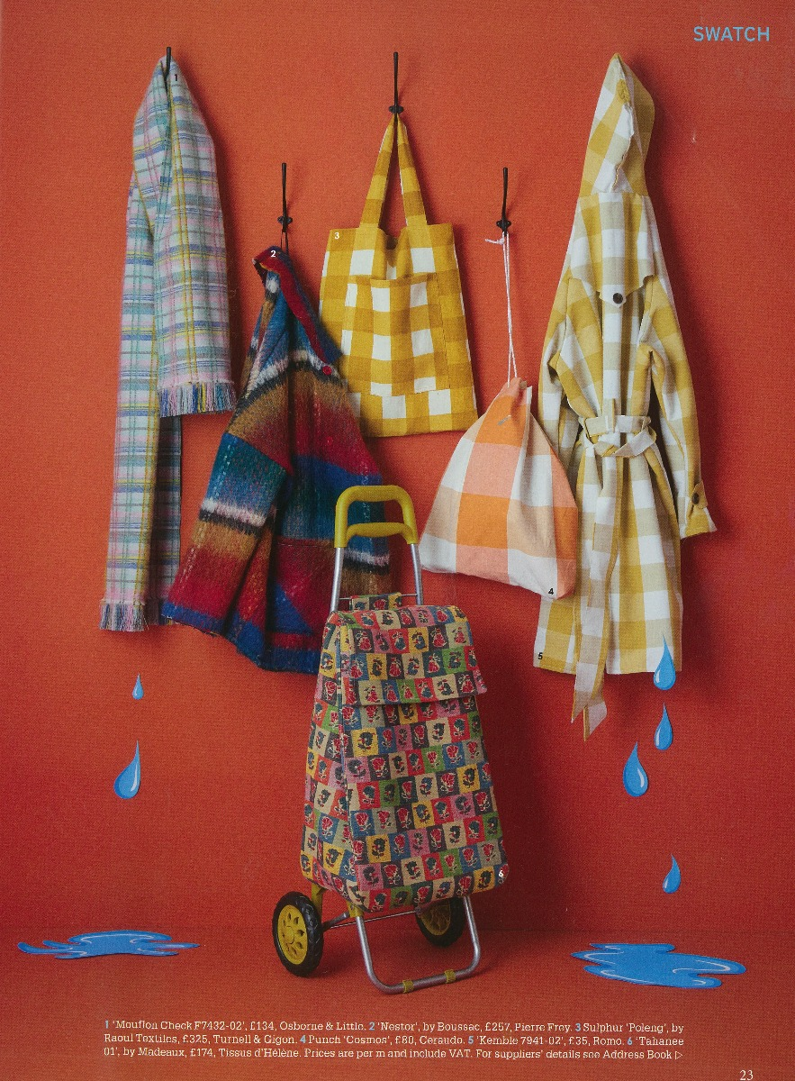 world of interiors magazine page
