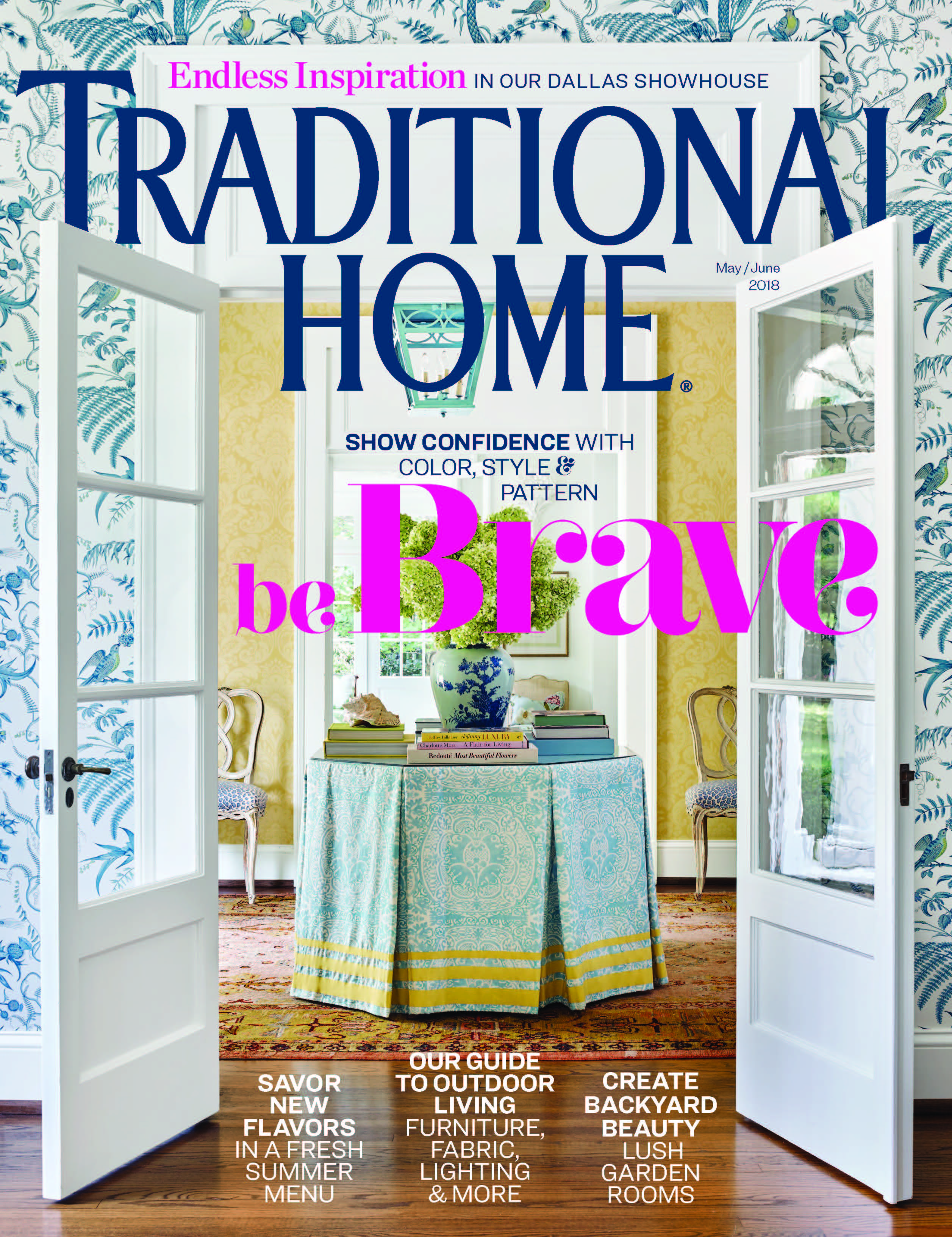 In the press -  Traditional Home USA May 2018