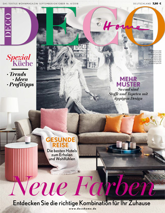 In the press - Deco Home Germany September 2018
