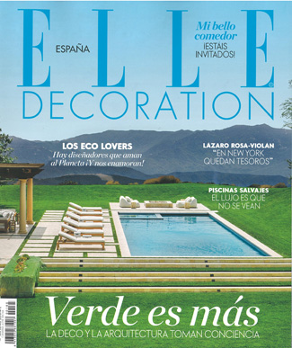 In the press - Elle Decoration Spain June 2018