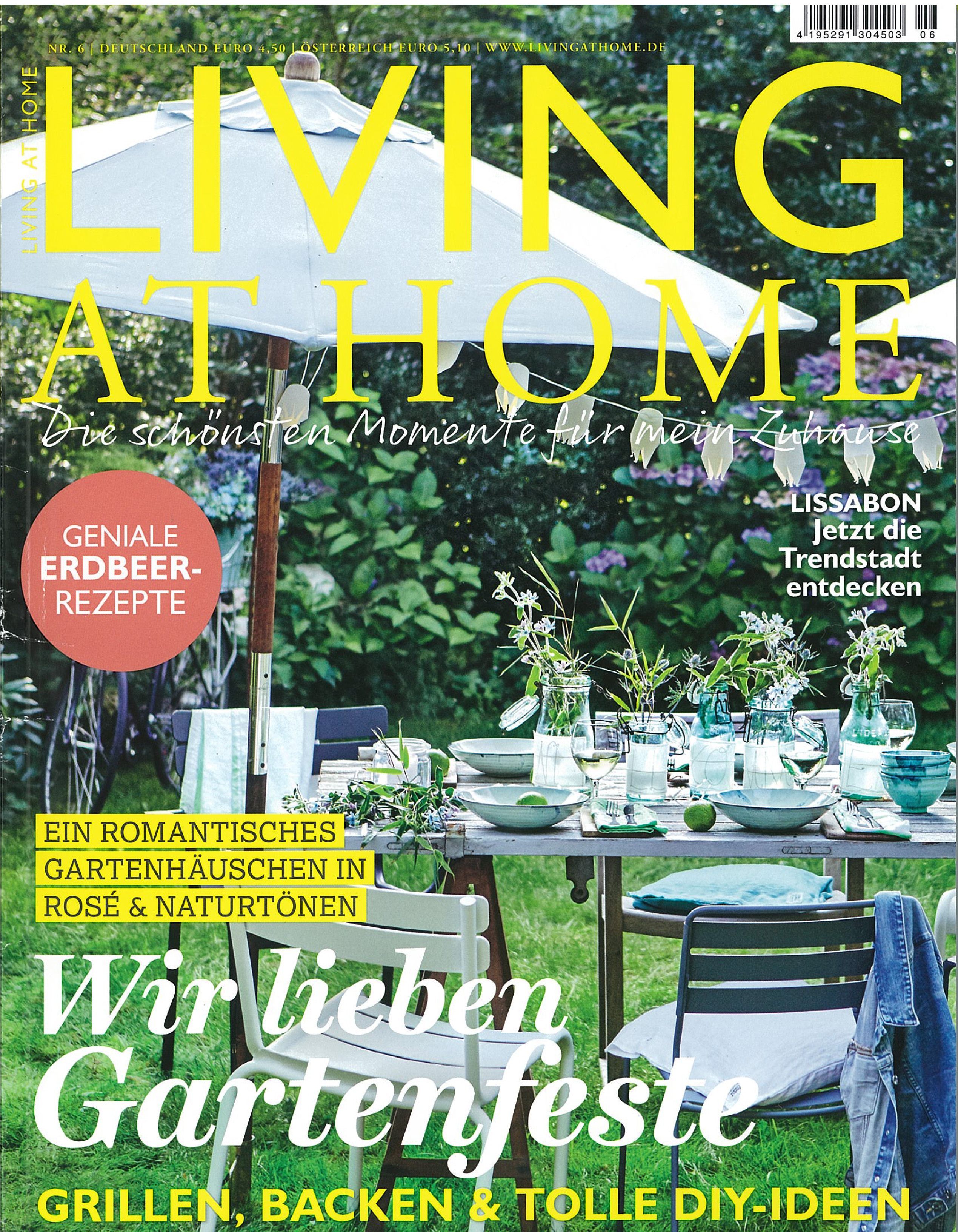 In the press - Living at Home Germany June 2018