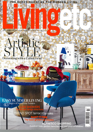 In the press - Living Etc July 2018