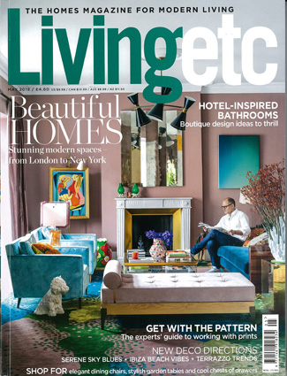 In the press - Living Etc May 2018
