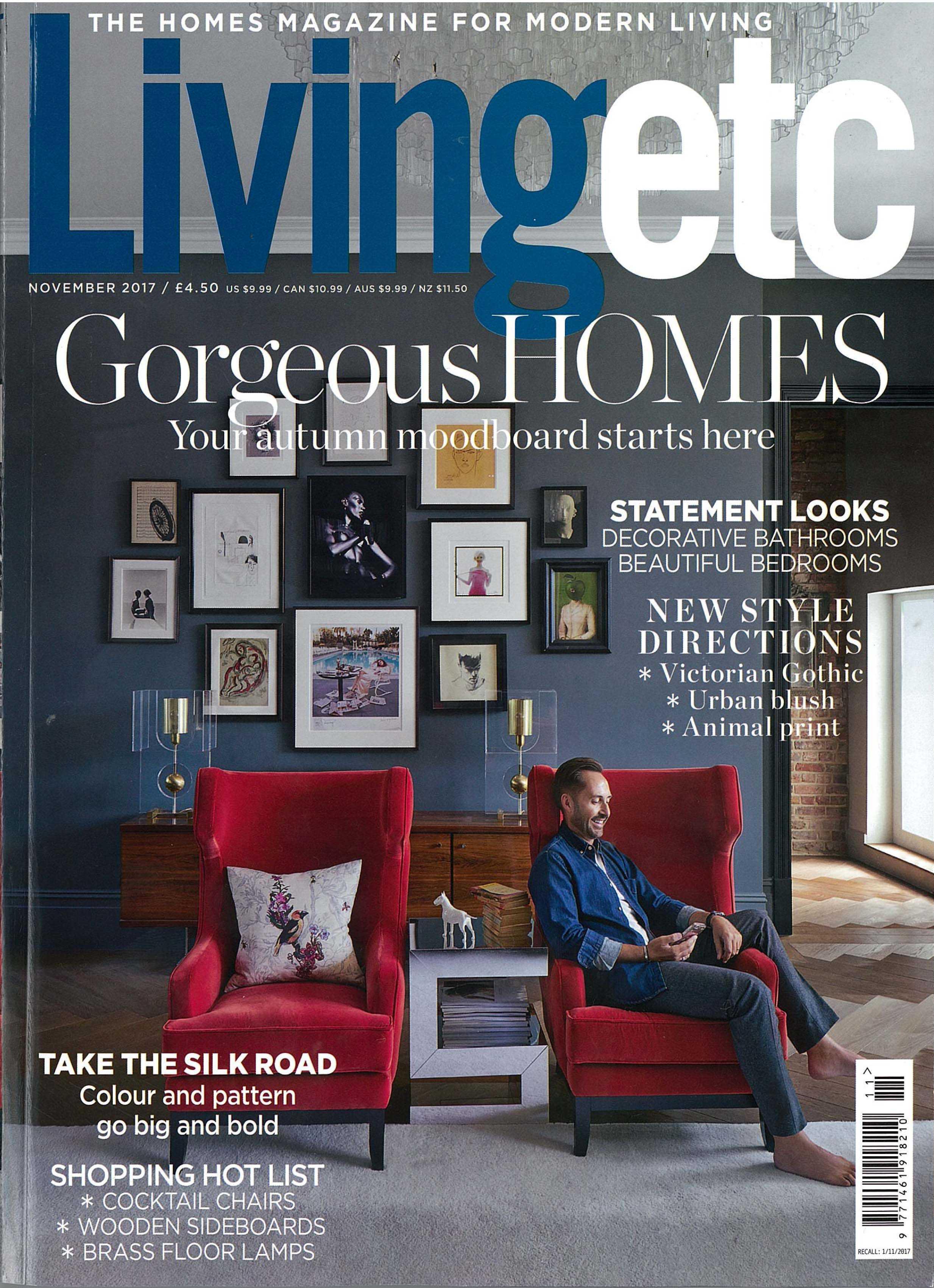 IN THE PRESS – Living Etc November 2017