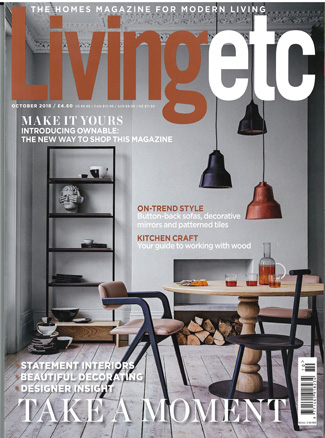 In the Press - Living Etc October 2018