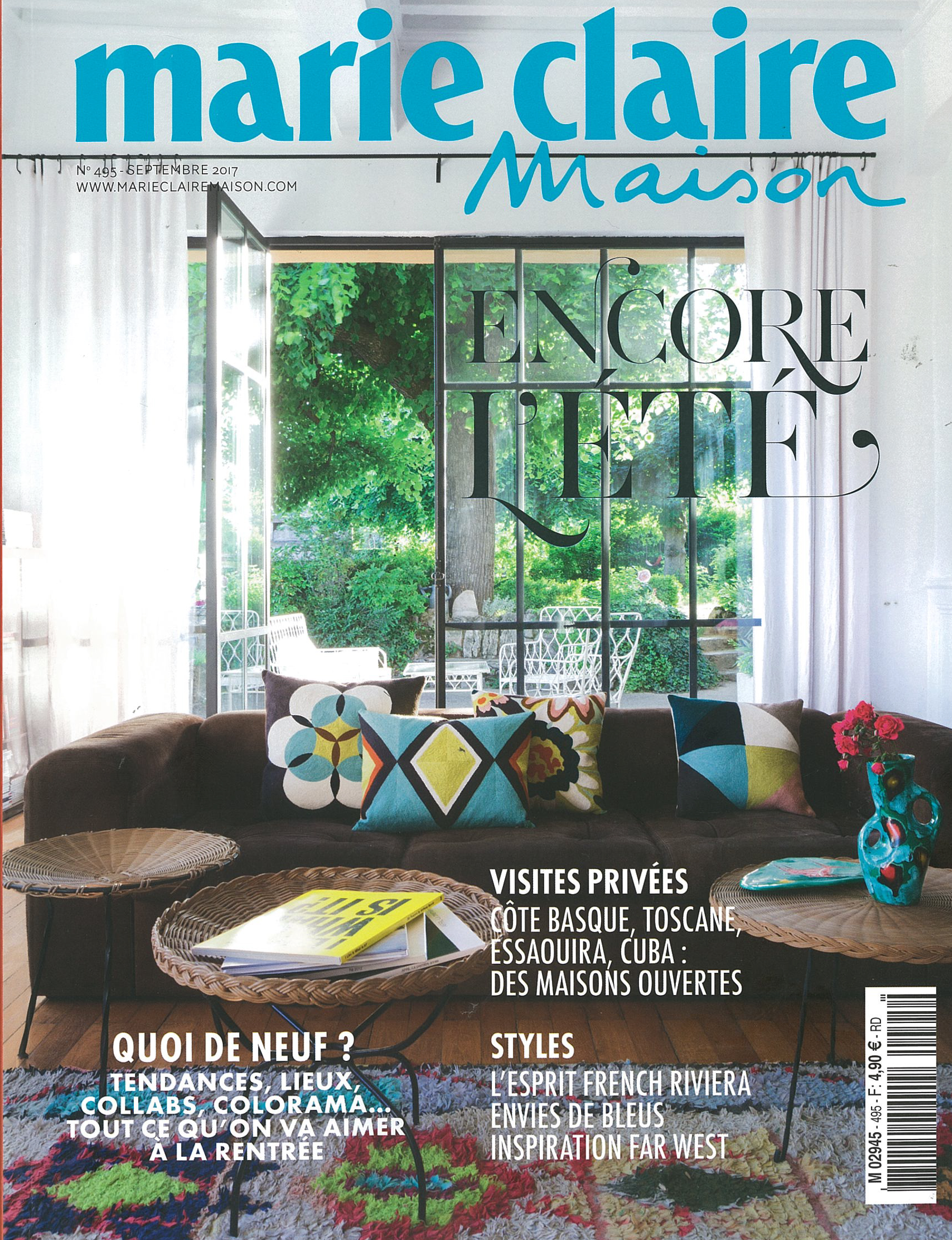 In the press – Marie Claire Maison France September 2017