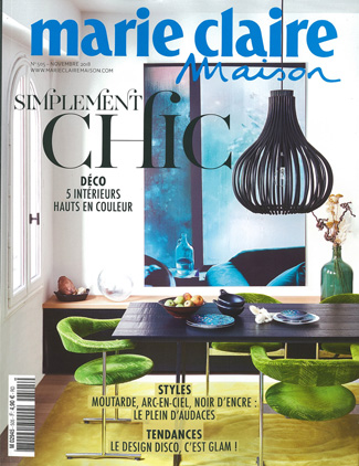 In the Press - Marie Claire Maison France October 2018