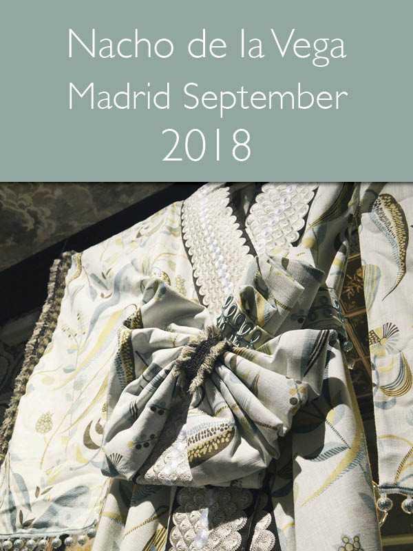 News & Events - Nacho de la Vega Madrid September 2018