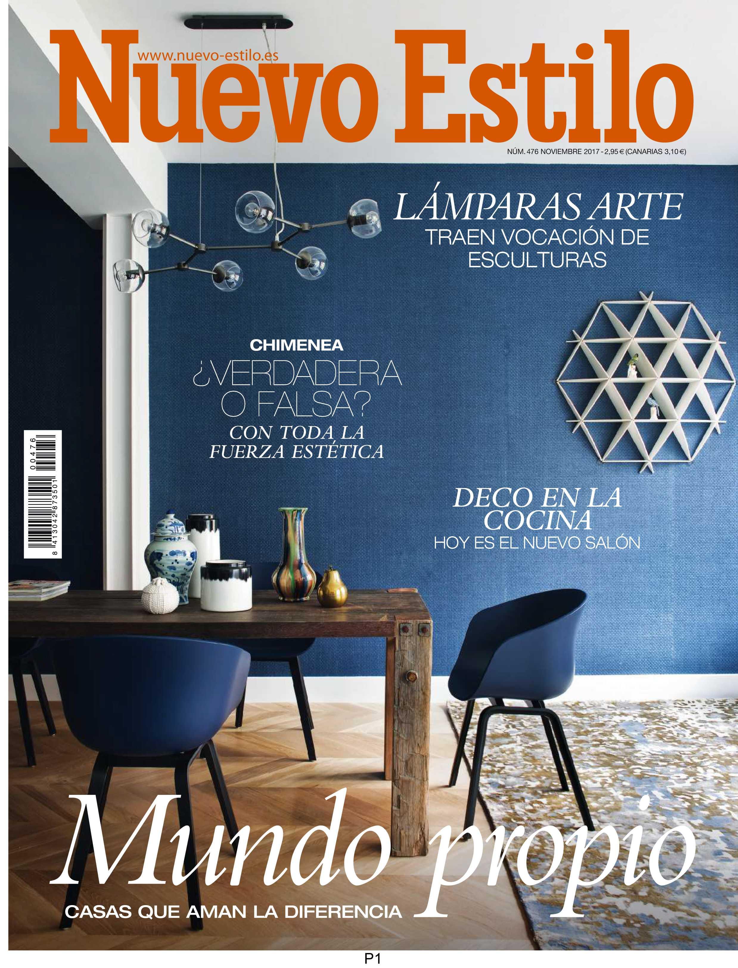 In the press – Nuevo Estilo Spain November 2017