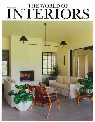 In the press - The World of Interiors July 2018