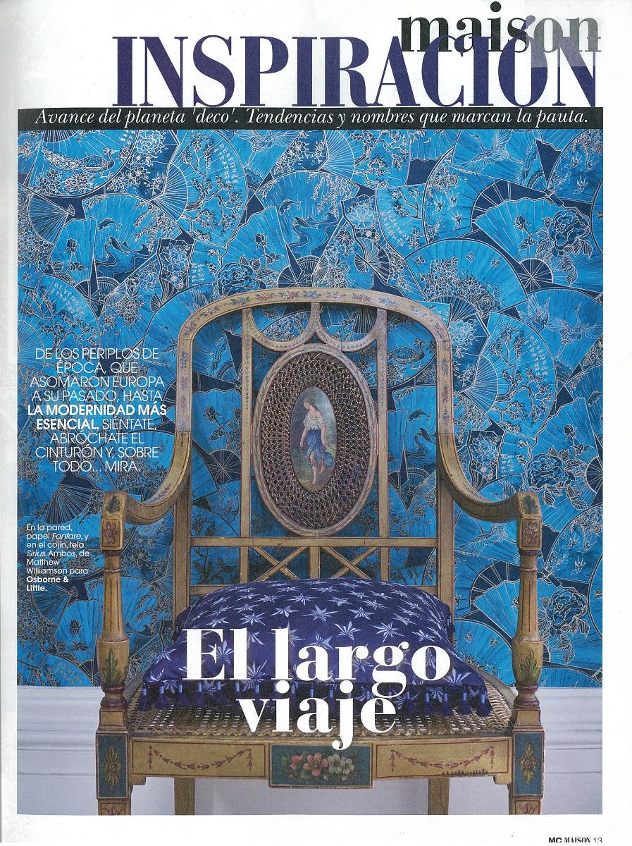 Marie Claire Maison Spain Fanfare December 2017